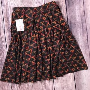 Lularoe Madison Skirt Small NWT